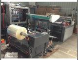Roulis de tissu de Tableau de vinyle à la machine de découpage de feuille avec la lame rotatoire Tem Triming (C.C)