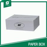 Empacotamento de carne ondulado impresso logotipo/caixa de transporte