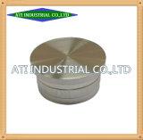 De fabrikant past Aluminium CNC Machinaal bewerkend aan de Centrale Delen van Machines