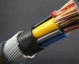 Kabel van de Kern van pvc 4 van de Draad van het staal de Gepantserde