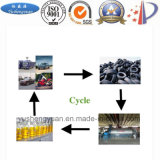 Оборудование выгонки Using неныжные покрышки для того чтобы произвести черноту топлива и углерода
