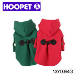 Gentle Green and Red Female Dog Clothes