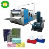 Full-Auto 4 de la V Línea Facial de papel plegado Machine, máquina de papel tisú laminado