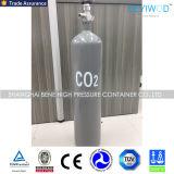 ISO/En/Tped/Ce 승인을%s 가진 고압 이음새가 없는 6.7L 강철 이산화탄소 실린더
