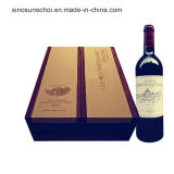 Individual Packaging Wooden Box for Red Wine