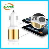 2 USB-Kanäle und Zigaretten-Feuerzeug-Auto-Aufladeeinheit