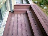 150*25mm de bons prix plancher anti-UV Redwood Outdoor WPC Decking
