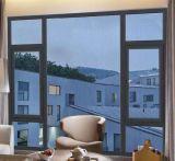 Окно Casement большого диапазона алюминиевое для селитебной дома (ACW-028)