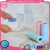 Устранимая Non-Woven ткань Wipe домоустройства
