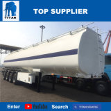 De titaan 45000 Liter van de Brandstof Dolly de Aanhangwagens van de Tanker van de Trekbalk voor Het Dragen van Palmolie en de Geraffineerde Olie van de Pit van de Palm