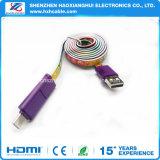 Новый тип спирального провода с изящный рисунок печатается кабель USB