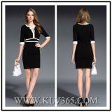 Vente en gros de robe de Bodycon de bandage de dames de bureau de vente en gros de vêtement de créateur