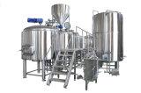 10bbl蒸気の熱くするセリウムISO TUVビール醸造装置