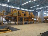 Bloc de marbre artificiel de ligne de production pour faire de la pierre et appuyez sur la machine