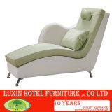 Современный дизайн хлопок постельное белье ткани диван, шезлонгами гостиная диван