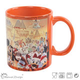 tazza di ceramica di disegno della costruzione 11oz