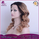 2t corps couleur blonde cheveux indiens d'onde Full Lace Wig