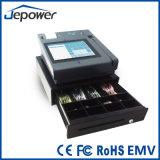 Terminal aprobada del pago de la tarjeta del sistema de la posición de Jepower EMV
