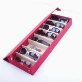 Brille-Bildschirmanzeige-Tellersegment und Schaukarton (X029)
