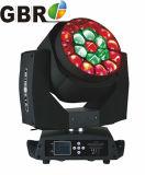 19X15W Etapa DMX luces LED Discoteca DJ Bee ojo moviendo la cabeza de la luz de la etapa