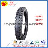 Venta caliente patrón popular de la motocicleta y el tubo neumático 300-18