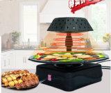 Het Ontschorsen van de pizza Dienblad van het Baksel van de Braadpan van de Kip van de Oven het Diepe Vlakke (ZJLY)