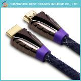 Kabel HDMI van Ethernet 1080P van de Lage Prijs van de hoge snelheid de Bulk3K 4D 2m
