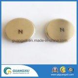 D25 x 5mm el imán de neodimio discos sinterizados axial