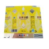 Matériaux stratifiés sur papier employant pour le conditionnement aseptique de la boisson