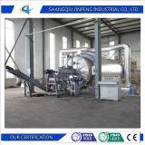 O óleo combustível de qualidade do pneu de resíduos de plástico// máquina de pirólise de Borracha