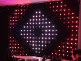 2m Hoogte X 3m het Gordijn van de Visie van de Breedte P18cm voor de Doek van de Achtergrond van DJ