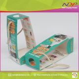 Impresa personalizada bebidas caso caja de embalaje de papel