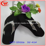 Nouvelle conception EVA Flip Flops Flat occasionnel pour les femmes de patin