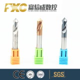 OEM 2/4 van Fxc Molens van het Eind van de Snijder van het Carbide van Fluiten de Stevige Boor