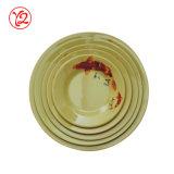 Porcelana de Harmonia España de la alta calidad como la placa determinada del servicio de mesa blanco del hotel