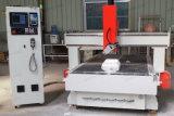 Router CNC máquina para trabalhar madeira madeira com 180 graus do fuso em movimento
