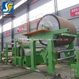 Os equipamentos de fabricação de papel higiénico a linha de produção produzem pequenas máquinas de rolo de papel