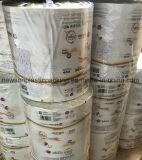 BOPP белого цвета PE пластиковой упаковки влажных салфеток рулона пленки