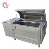 자동적인 Brush Type Cassava Washing 및 Peeling Machine Taro Yam Patato Peeler
