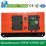 Generatore diesel insonorizzato standby di potere 55kw/68.75kVA con il motore di Shangchai Sdec
