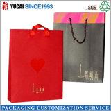 Sac de papier fait sur commande de fabrication/sac à provisions/sac de cadeau/sac de main