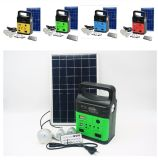Home와 Camping를 위한 Phone Charger를 가진 DC off-Grid Solar Energy Lighting System