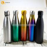 500ml la nueva botella de agua de acero inoxidable de diseño de logotipo personalizado para el Deporte
