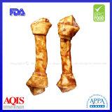 Kauwt de kip Op smaak gebrachte Ongelooide huid Broodje/Honden Bonefor