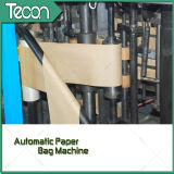 Sac de papier entraîné par un moteur électrique à grande vitesse faisant la machine
