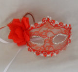 Rode Sexy Dame Dancing Party Laceing Masks