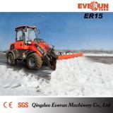 Европейский затяжелитель Er15 колеса типа с кабиной Rops&Fops