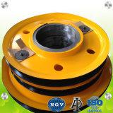 Motor forjado de rodadura de poleas para Marina, grúas de puerto