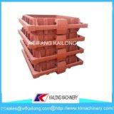 Rectángulo dúctil de la arena del bastidor de la fundición de hierro de la alta calidad