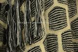 Cappotto guarnito sfocato di inverno del cardigan del Knit della cascata per le donne